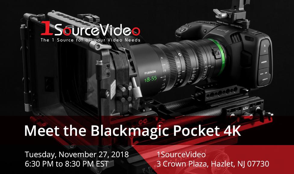 Meet The Pocket 4K: A Video Techniques Workshop